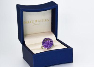 Amethyst Cut by Award Winning Gemstone Cutter,