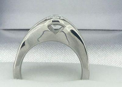 diamond shape ring7