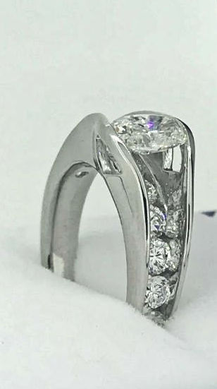 suspended diamond shape ring10
