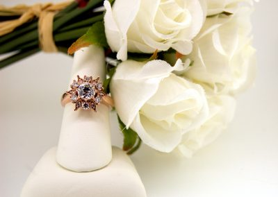Rose Gold Vintage Style Ring