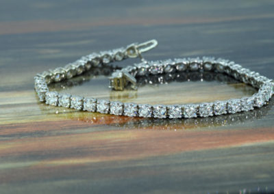 Classic Diamond Tennis Bracelet Masterpiece