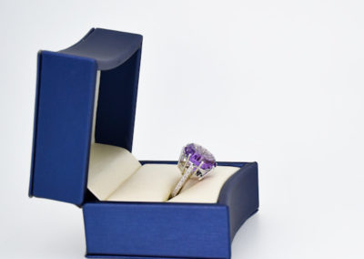 Award winning Amethyst Gemstone Fashion Ring